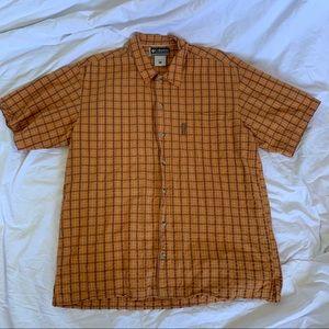 Men's Columbia Short Sleeve Shirt Very Nice